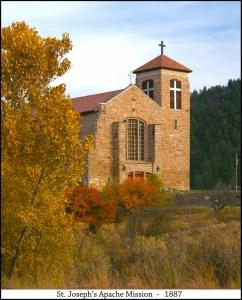 St. Joseph Apache Mission - Mescalero (1033x1280)