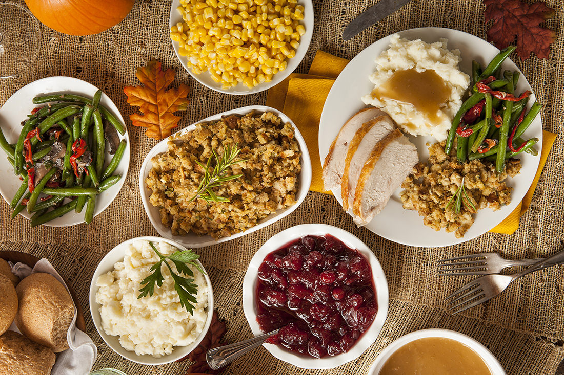 Image result for thanksgiving dinner pictures