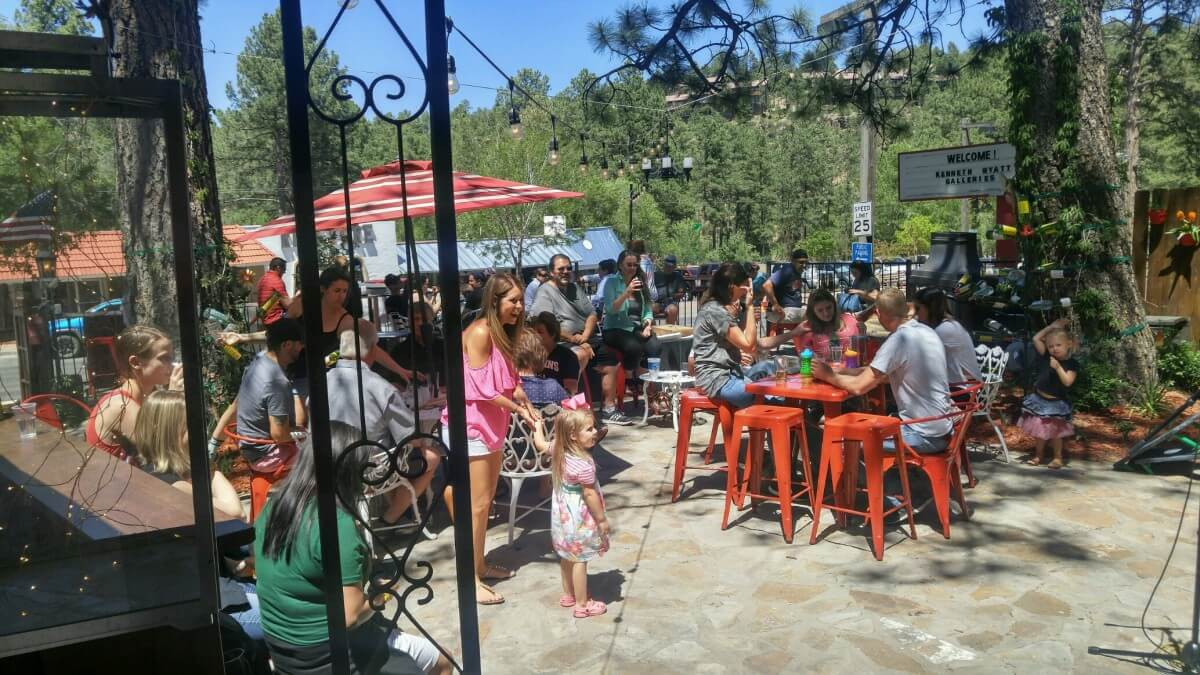 tall pines wine and beer garden
