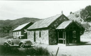 chapel in a hole